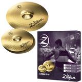 Pack De Platillos Zildjian Planet Z Plz1316 13 Y 16 Pulgadas