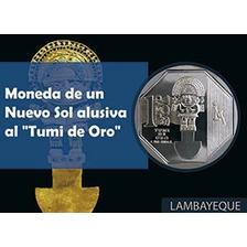 Moneda El Tumi De Oro #01 Lambayeque 2010