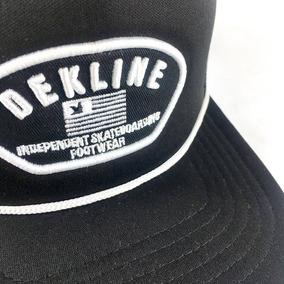 Gorra Dekline Skate Trucker Negro Cap Snapback No New Era