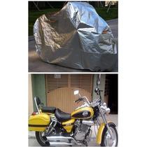 Funda Afelpada 100% Impermeable Choper Dinamo Custom 150 250