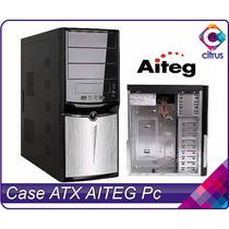 Case Atx Aiteg/ Jedel Con Fuente De Poder 500w