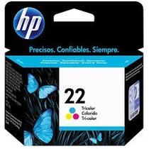 Cartucho Hp Original 22 Colorido