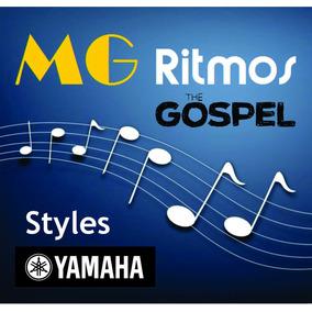800 Ritmos Gospel Yamaha + Brinde: 2000 Ritmos + 1000 Midi