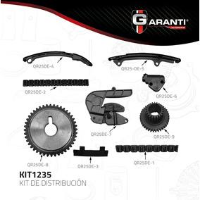 Kit Distribucion Tiempo Sentra Altima Xtrail 2.5 Qr25de 05-9