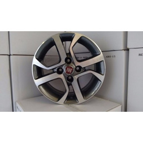 Roda Aro 15 Fiat Mobi 4x98 R77 Palio Uno Punto Linea Marea