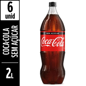 Coca-cola Sem Açúcar 2 Litros - 6 Unidades