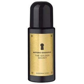 Desodorante The Golden Secret Masculino 150ml Antonio Bander