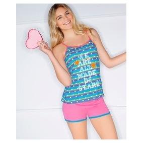Patrones De Pijama Dama Short Camiseta + Talla Grandes 2017
