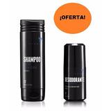 Shampoo Control Caspa Y Caida Y Desodorante Titanium Unique