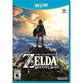 Legend Of Zelda Breath Of The Wild Wiiu Midia Fisica Lacrado