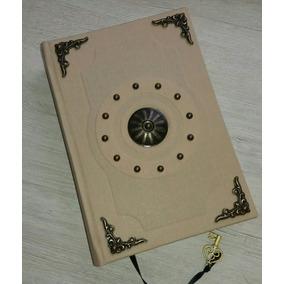Grimório 160 Fol Livro Sombras Wicca Book Of Shadows 15x21cm