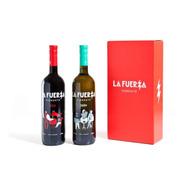Caja 2 Botellas La Fuerza Mix (1 Rojo + 1 Blanco)