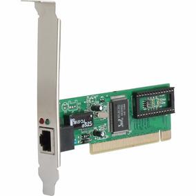Placa De Rede 10/100 Mbps Pci Fast Ethernet Lan Card