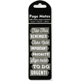 Page Mates - Peter Pauper 6,4x18,1 - Chalkboard