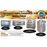 Hornos Para Panaderías, Repostería, PizzeríaImportados De