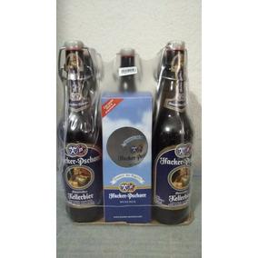 Pack X 5 Cervezas Hacker Pschorr + Vaso De Coleccion