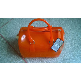 Cartera Furla Original Candy Bag Naranja