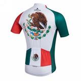 Jersey Ciclismo Mexico Miloto Original Super Calidad Ruta
