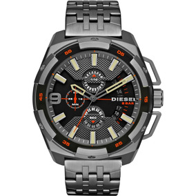 Reloj Diesel Original Y Nuevo Heavy Duty Gunmetal Dz4394