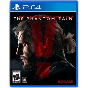 Metal Gear Solid V Phantom Of Pain Ps4 Playstation 4 Oferta!