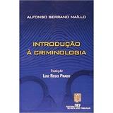Livro Introdução À Criminologia Luis Reggis Prado