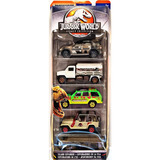 Matchbox Legacy Collection 1:64 5-pack Jurassic World Jeep