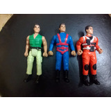 Lote X 3 Hasbro International Muñecos De Action Man