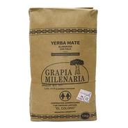 Yerba Mate Grapia Milenaria 1 Kg. Estacionamiento Natural