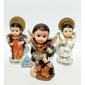 Kit Con 3 Arcangeles - Arcangel San Miguel, Gabriel Y Rafael