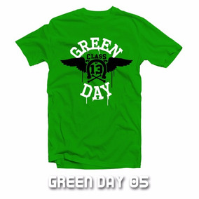 Playeras Green Day American Idiot Rock Punk Oompa Loompa