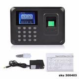 Reloj Biometrico Control Asistencia Con Huella Password W05
