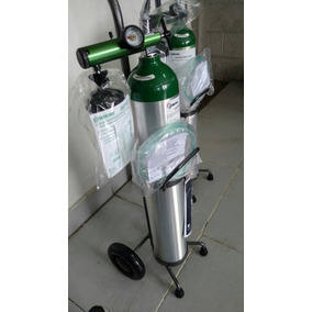 Cilindro Oxígeno Portátil 680 L Completo