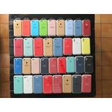 Funda Apple Silicone Case Iphone 6/6s 7/8 7/8plus X Original
