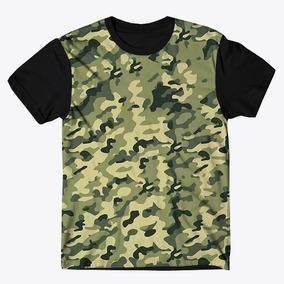 Green Camiseta Long G Style Camuflado - Camisetas Manga Curta no ... 4fad3f0598e