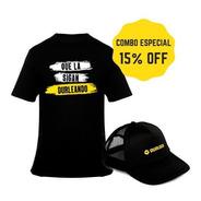 Combo Remera + Gorra Durlock Oficial® Ideal Regalo 15% Off