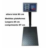 Balança Comercial Digital Tcs 300kg Bateria Industrial