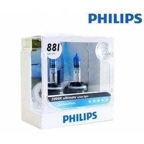 Par Lâmpada Philips Diamond Vision H27 Original 5000k