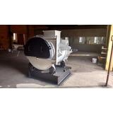 Forno Fundição Basculante 1000kg Alumínio/2500kg Zamak