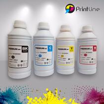 Tinta Hp Canon 1 Litro Para Cartucho Marca Printline