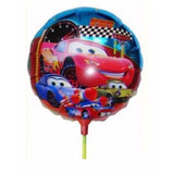 Balão Carros Mcqueen (20cm Centro De Mesa) - Pacote Com 20