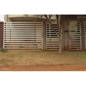 Portão Metalon 3x2,2m Mais Portão Passeio 1x2,2m