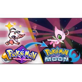 Celebi & Mew Shiny Pokemon Sun Moon, Ultra Sumo. + Brinde.