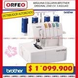 Máquina De Coser Collarin Familiar Brother 2340cv Original
