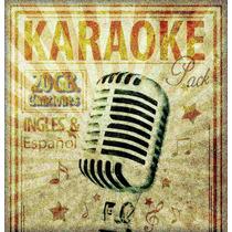 Karaoke Profesional Español   Ingles - 20gb   Virtual Dj 8