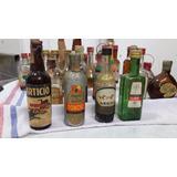 Antigua Botella Botellita Vidrio Coleccion Aperitivo Legui