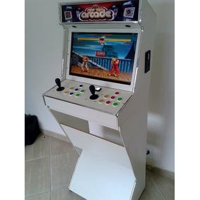 Mini Maquina Fliperama Multijogos Bartop Monitor 17 X-games