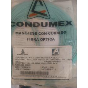 Fibra Óptica Multimodo Lc/sc 19 Metros Marca Condumex.