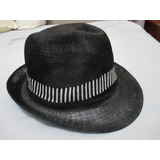 Chapéu Panamá Masculino Carioca Malandro Preto Pront Entr