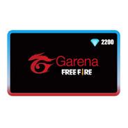 Garena Ppc Gift Card 2200 Diamantes Free Fire
