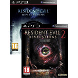 Resident Evil Revelations 1 Y 2 Bundle Ps3 - Español